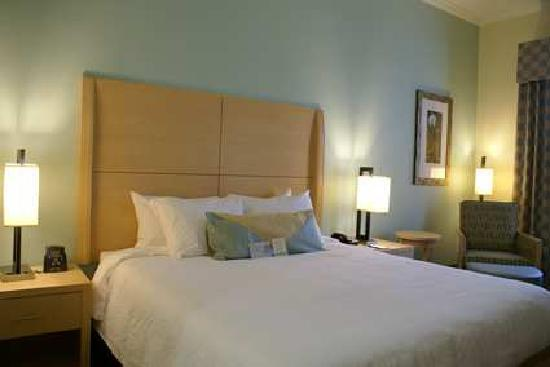 Evolution guest rooms feature the adjustable Garden Sleep System