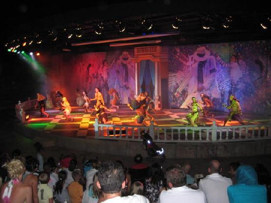 Royal Wings Hotel: Michael Jackson show.