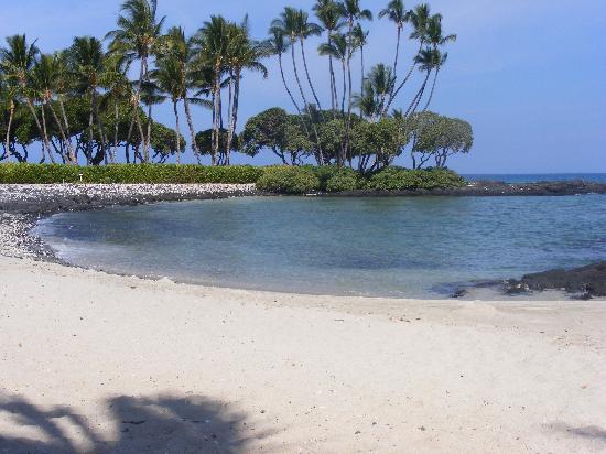 Fairmont Orchid Hawaii Grounds Beach View