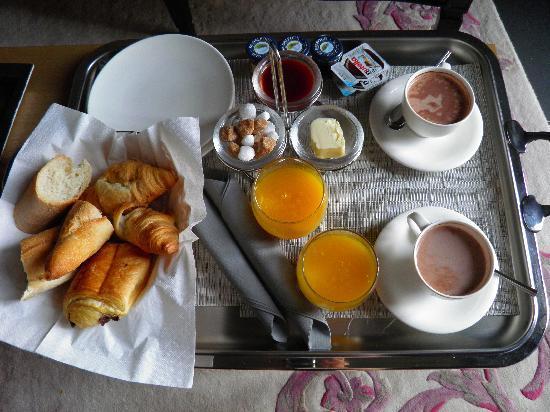 Villa Garbo: petit dejeuner