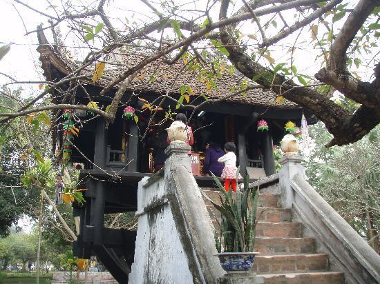 One Pillar Pagoda: 一柱寺