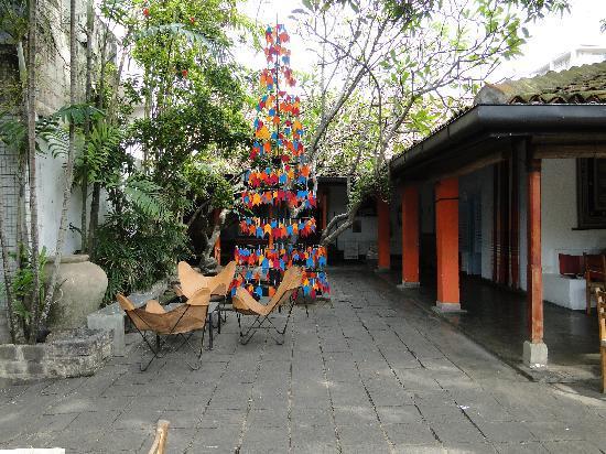 Barefoot Garden Cafe: Dekoration