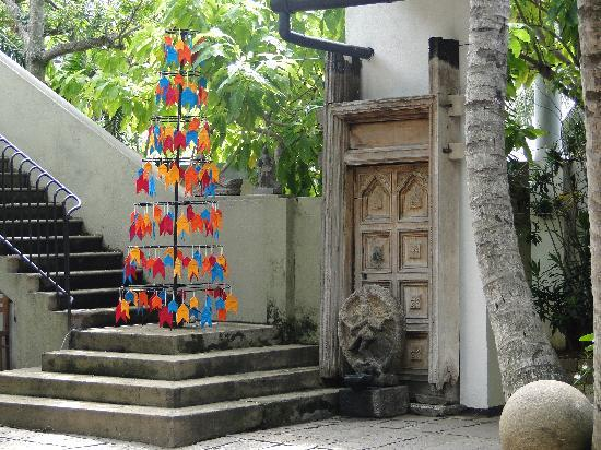 Barefoot Garden Cafe: Weihnachtsbaum