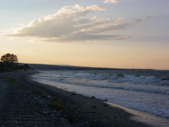 Leptokarya, Greece: Der Strand