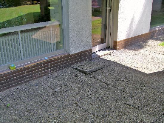 Hotel Gersfelder Hof: Stolperfalle