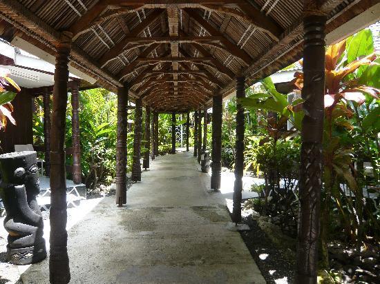 Apia, Îles Samoa : Im Aggie Grey's Hotel