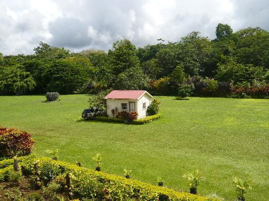 Apia, Samoa: Blich in der Park von Robert Louis Stevenson's Villa