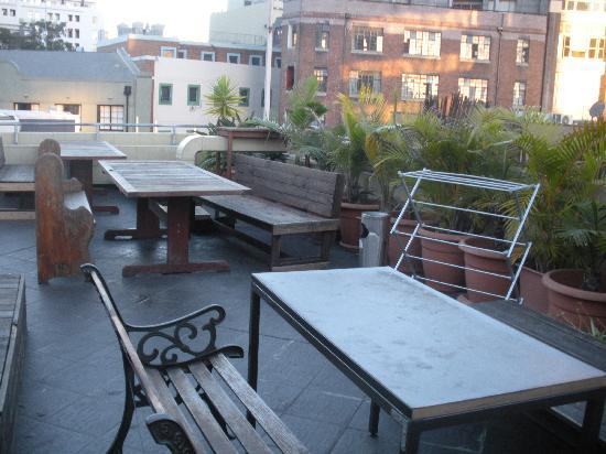 Big Hostel: rooftop