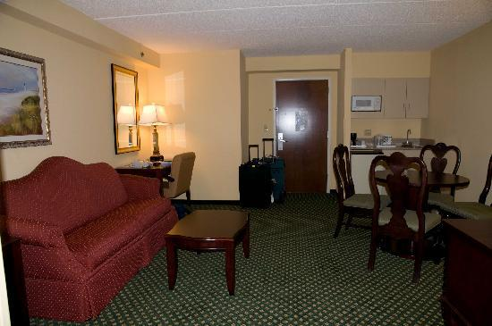 Holiday Inn Express Hotel & Suites South Portland: Pull-out couch