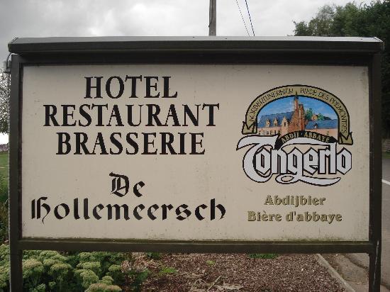 Hotel-Restaurant De Hollemeersch : Roadside