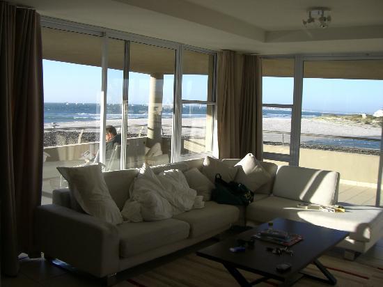 Lagoon Beach Hotel & Spa: Blick aus dem Zimmer