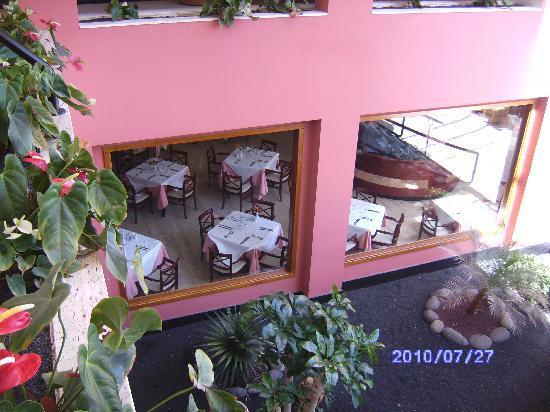 Hipotels La Geria: Restaurant
