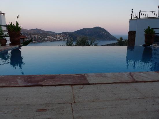 Twilight at Villa Pisces, Kalkan, Turkey