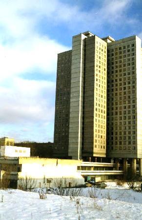Lomonosov Moscow State University (MGU): モスクワ大学の寮