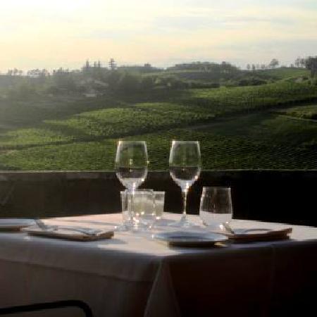 Gavi, Italy: Tavolo con vista sulle colline
