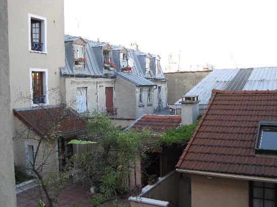 La Ferme des Barmonts : window view