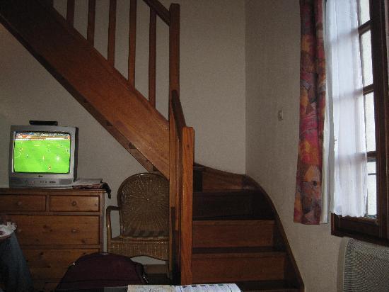 La Ferme des Barmonts: stairs between floors