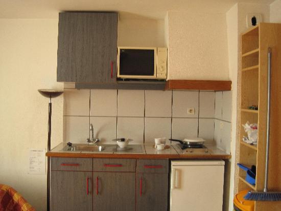 La Ferme des Barmonts: kitchenette