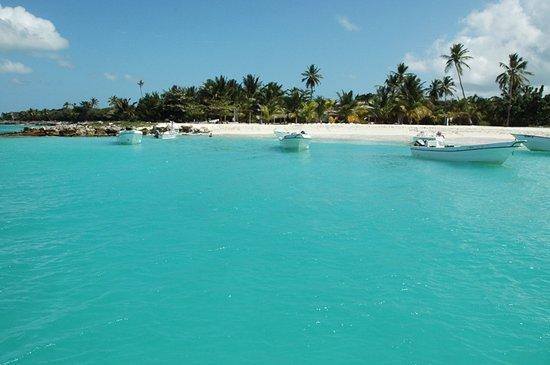 Bayahibe, Dominican Republic: Turquoise éclatent a l'ile de Saona