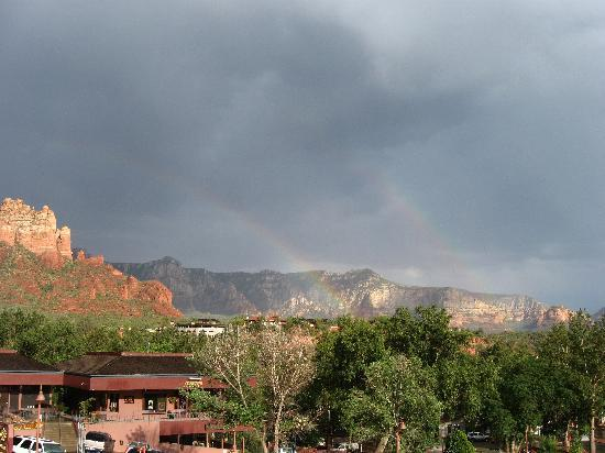 Sedona Motel: View from the sitting area