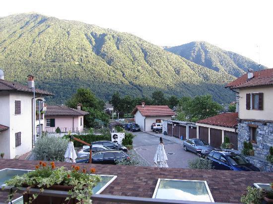 San Pietro Sovera, Italia: Blick vom Balkom