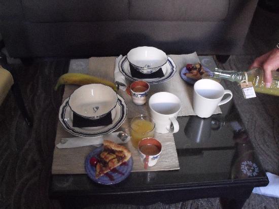 B&B Il Cielo: everymorning greets you with a wonderful breakfast