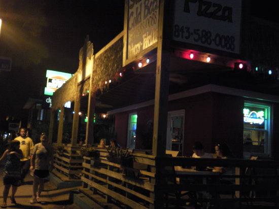 Woody's Pizza: Outside of Woody's