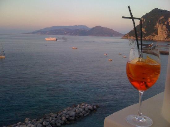 J.K.Place Capri: Blick von der Terrasse