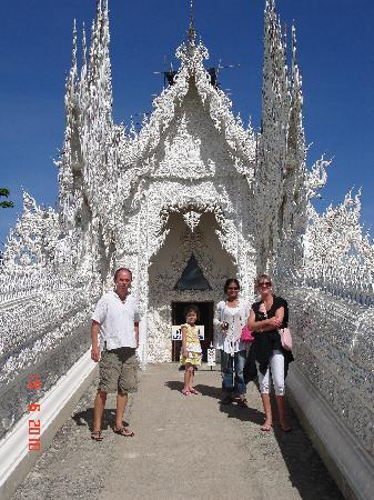 Mai Siam Resort: temple blanc