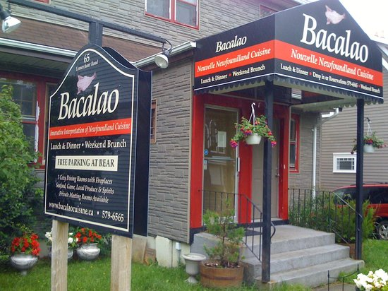 Bacalao - Nouvelle Newfoundland Cuisine: Bacalao from the street