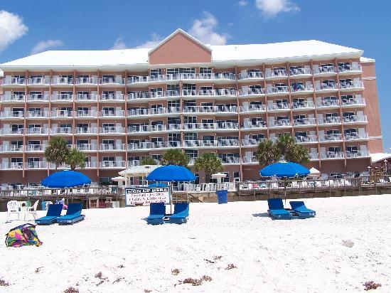 Palmetto Inn Suites View From Beachside
