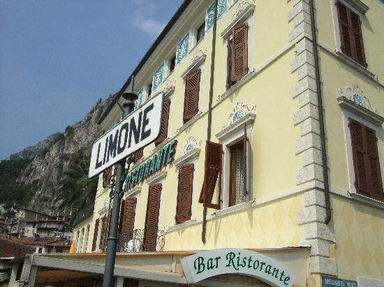 Ankunft in Limone sul Garda