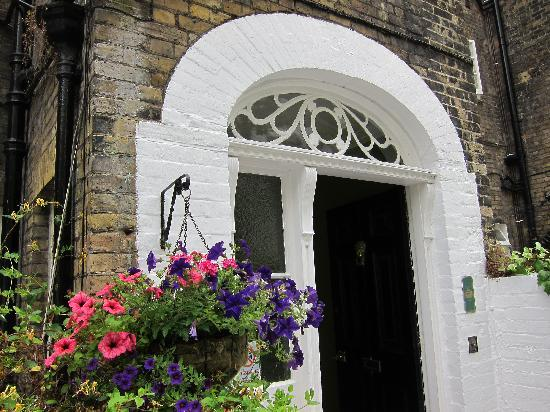 Loddington House: Back doorway.