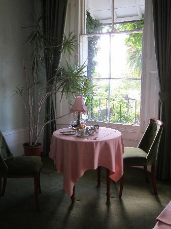 Loddington House: The dining room