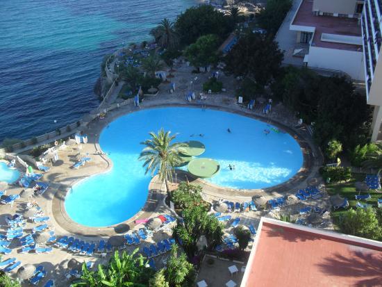Complejo Calas de Mallorca: view from room