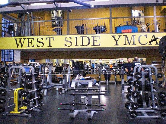 West Side YMCA: gym, bodybuilding part