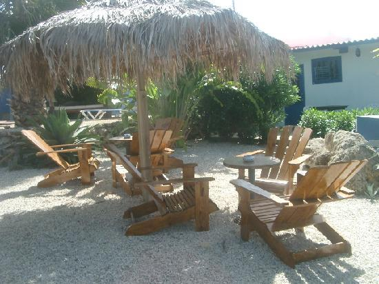 Caribbean Chillout Apartments : zitje