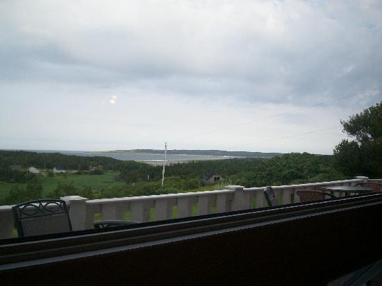 Cheticamp Outfitters Inn B & B: View out the window
