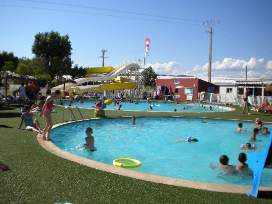 Siblu Villages - Le Montourey : Vue espace aquatique