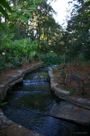 Florien, Λουιζιάνα: Waterfall Staircase at Hodges Gardens