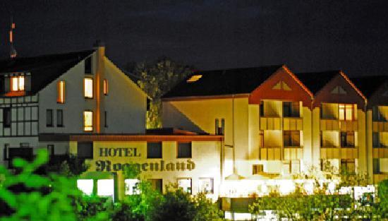 Waldeck, Allemagne : Roggenland - nächtliche Ansicht