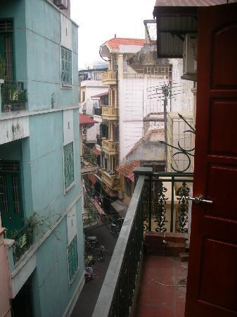 Hanoi Golden Plaza Hotel: blick vom balkon