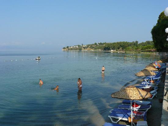 Omer Holiday Resort: vue de la terrasse du restaurant