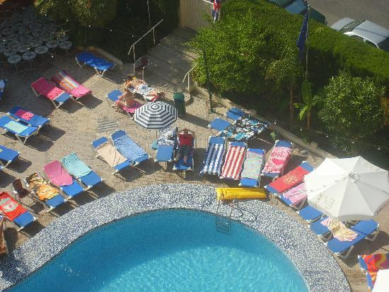 Ambassador swimming pool with towels! - Picture of Hotel ...