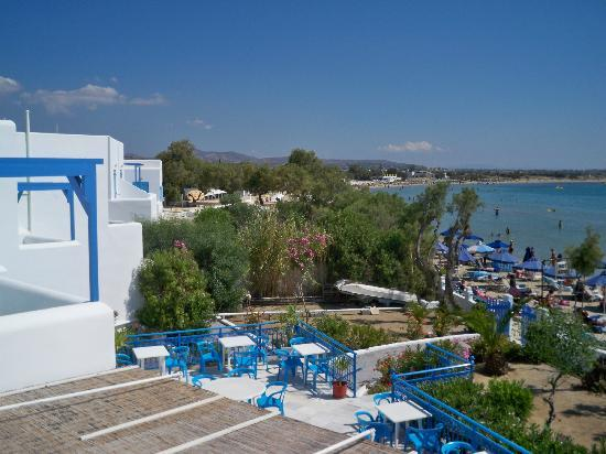 Hotel Asteria: another view from balcony