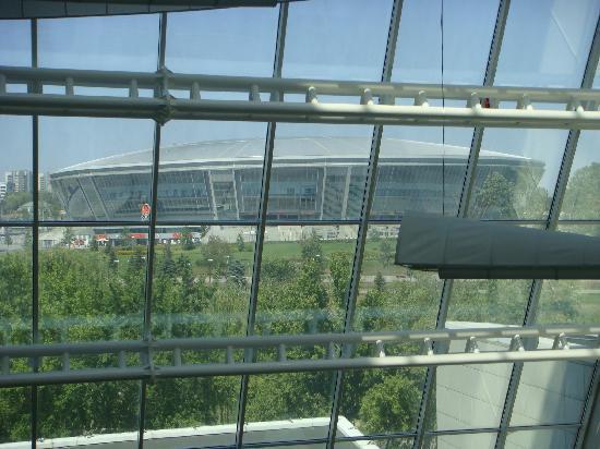 Victoria Hotel Center: Football stadium