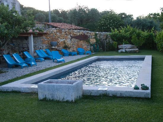 Villa Pedra Natural Houses: swimming pool between vineyards
