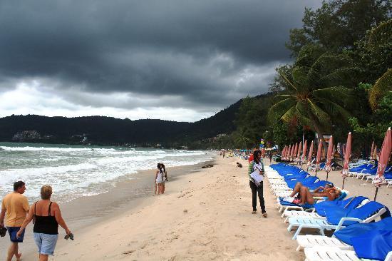 Phuket, Thailand: Patong beach