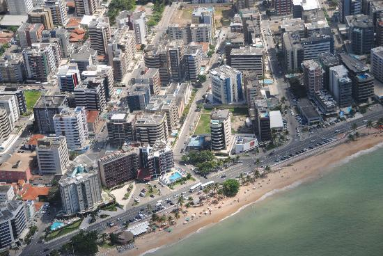 Maceio Mar Hotel: VISTA DO AVIÃO