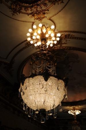 Henry Morrison Flagler Museum: Lamp detail